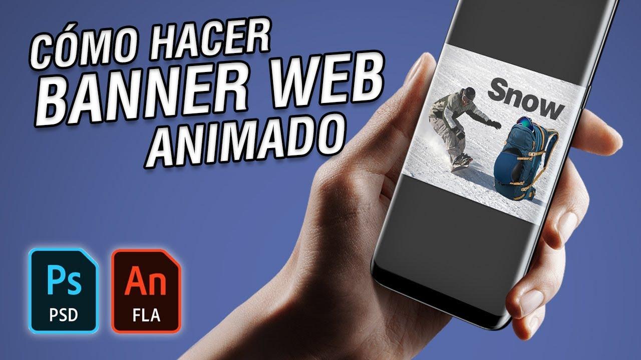 Cómo hacer un Banner Web animado en Photoshop y Animate #41