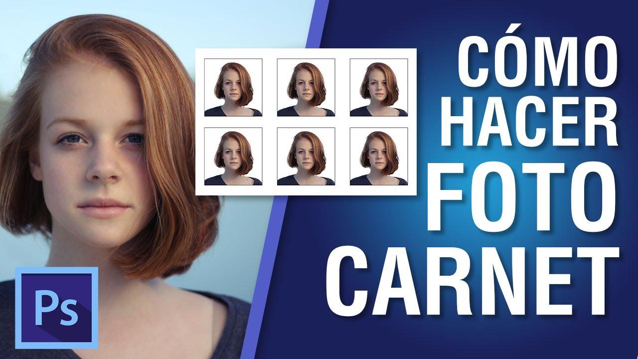 Cómo hacer Foto Carnet en Photoshop CC 2018 #12