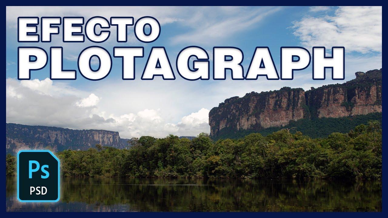 Cómo animar foto con efecto Plotagraph en Photoshop CC 2018 #34