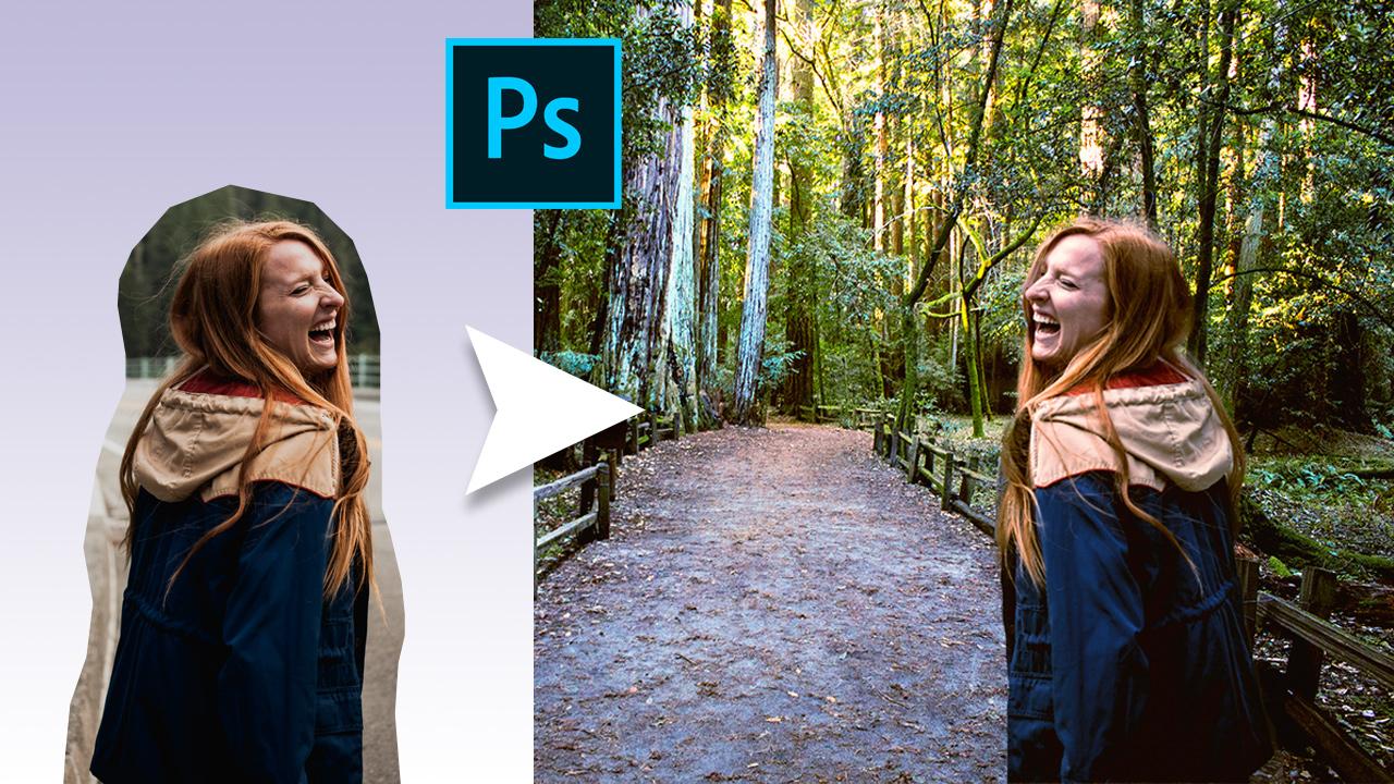 Cómo INTEGRAR una PERSONA en una FOTO con PHOTOSHOP CC 2019 #47
